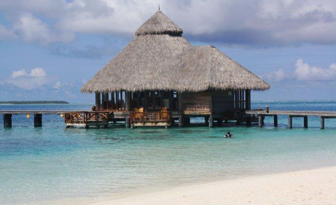 马尔代夫游记(三)梦幻海底餐厅--港丽岛