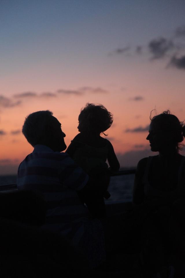 这也是出海拍到的日落