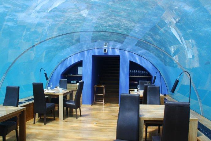 马尔代夫游记(三)梦幻海底餐厅