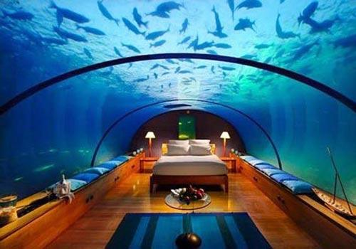 拉格利·希尔顿度假酒店海底餐厅