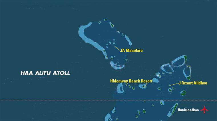 Atollo di Haa Alifu, Maldive