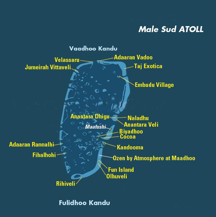 Atollo di Male sud, Maldive
