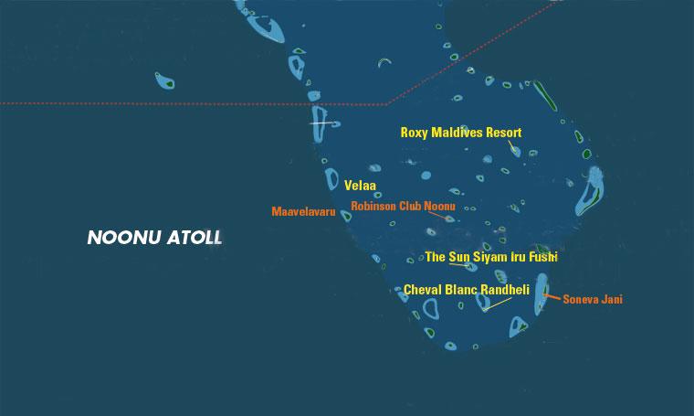 Atollo di Noonu, Maldive